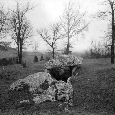 Le site en 1891