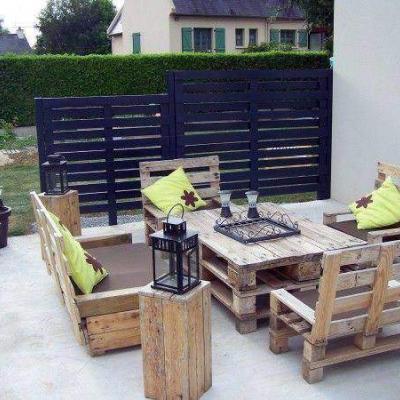 salon de jardin complet