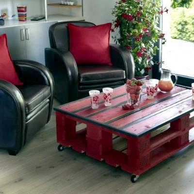 rouge : une couleur bien assortie peut être du plus bel effet