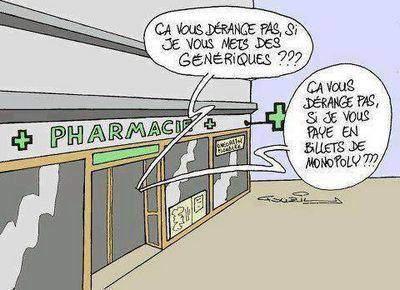 médicaments génériques interdits