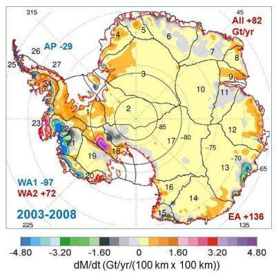 l'Antartique ne fond pas