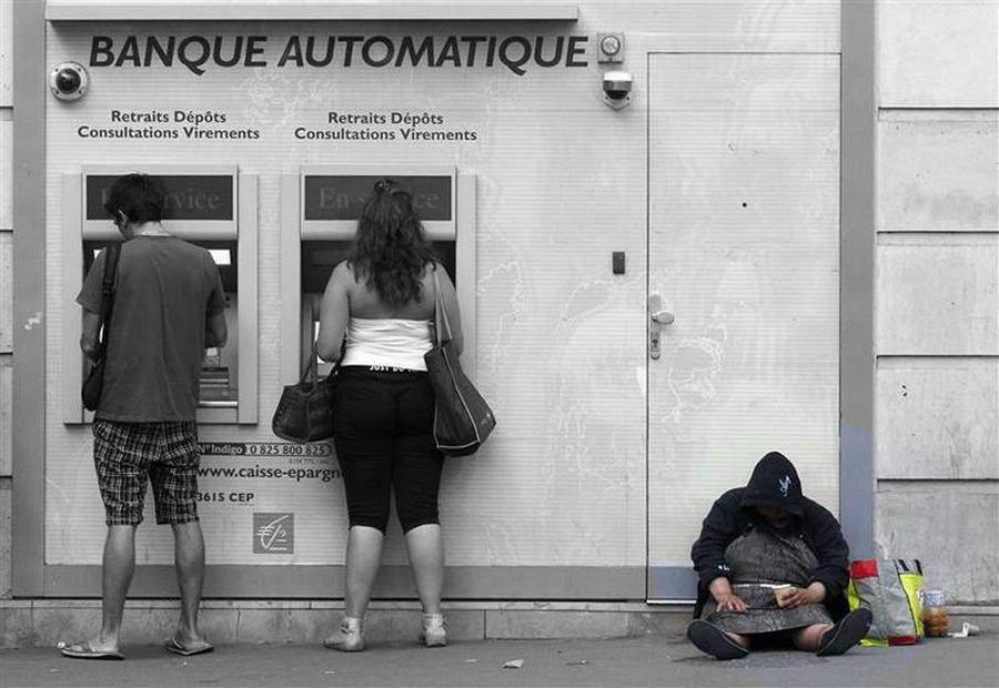 la pauvreté s'aggrave