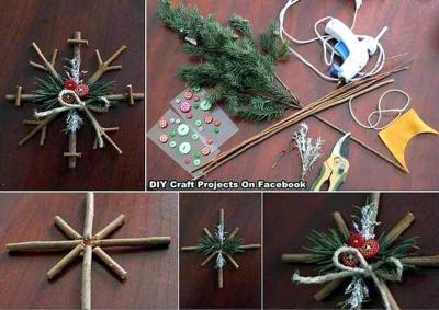 décorations de Noël à réaliser