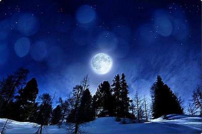 pleine lune de noel