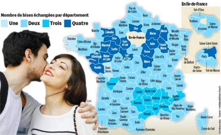 Les Français aiment se faire la bise : ça énerve les ...