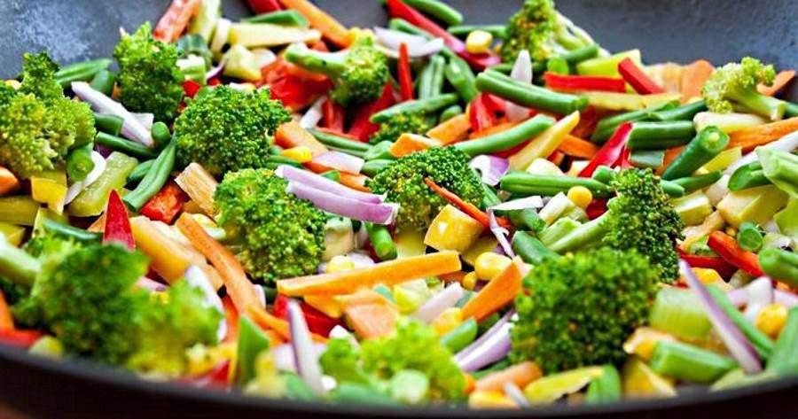 légumes poêlés