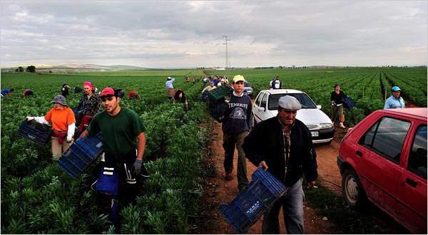 Une journée de travail aux champs, c'est 47€ de salaire... décision votée et approuvée par les habitants.