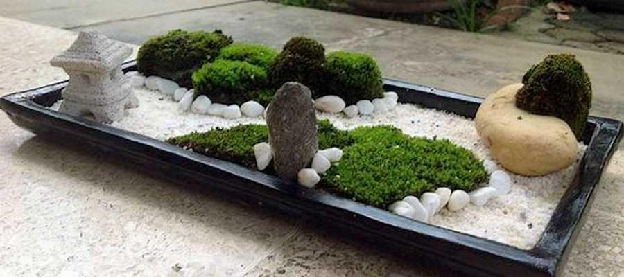 Emejing decoration mini jardin japonais contemporary for Deco jardin zen miniature