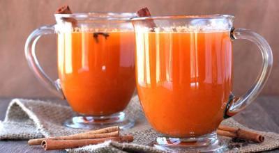 jus de fruits chaud