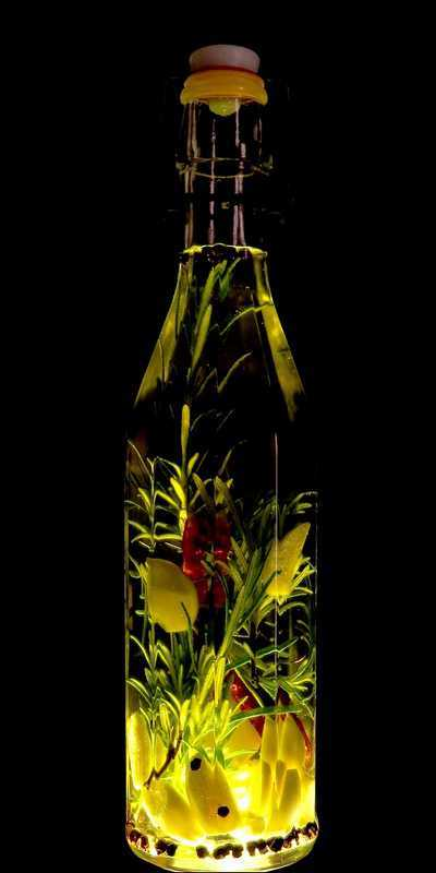 huile aromatisé