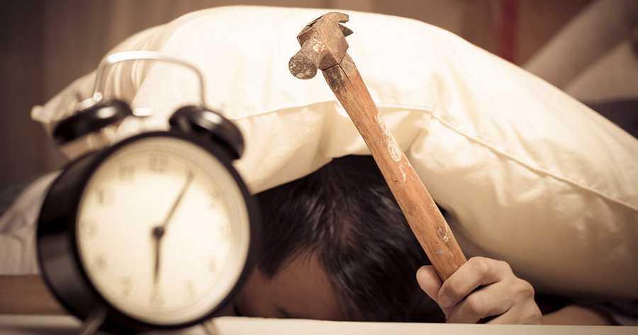 réveil dificile