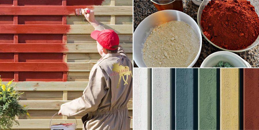 peinture naturelle la farine l 39 alternative cologique efficace pour vos boiseries. Black Bedroom Furniture Sets. Home Design Ideas