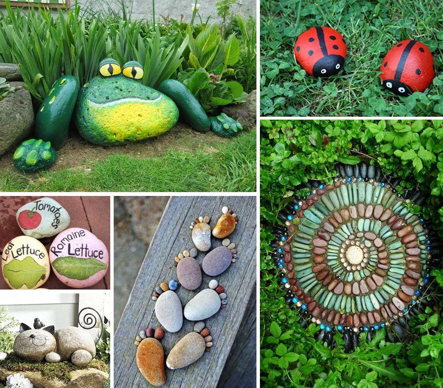 Décoration de jardin en objets de récup\' : des idées originales à ...