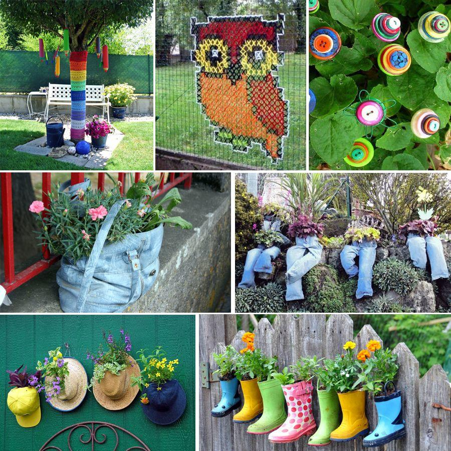 décoration au jardin