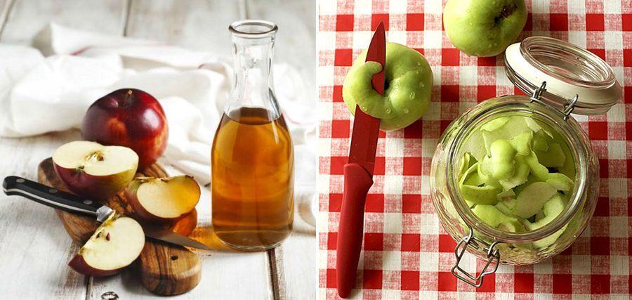 Apple cider vinegar: homemade recipe with leftover apples