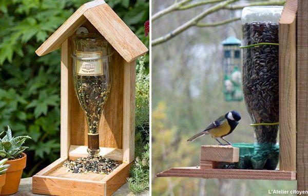 fabriquer maison pour oiseaux bois ventana blog. Black Bedroom Furniture Sets. Home Design Ideas