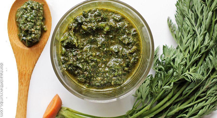 Pesto De Fanes 4 Recettes Gourmandes Pour Une Cuisine Zero Dechet