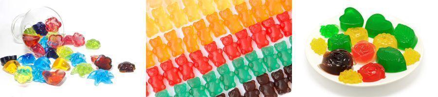 Bonbons Gelifies Faits Maison Une Recette 100 Naturelle Sans Additifs